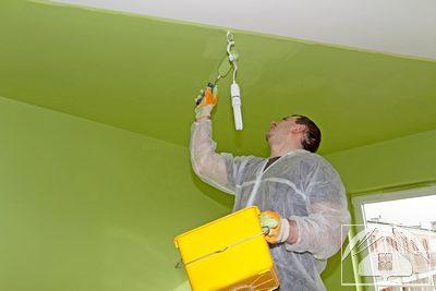 Покраска-потолков