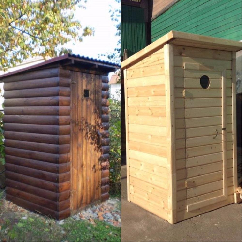 Как построить красивый туалет своими руками 371