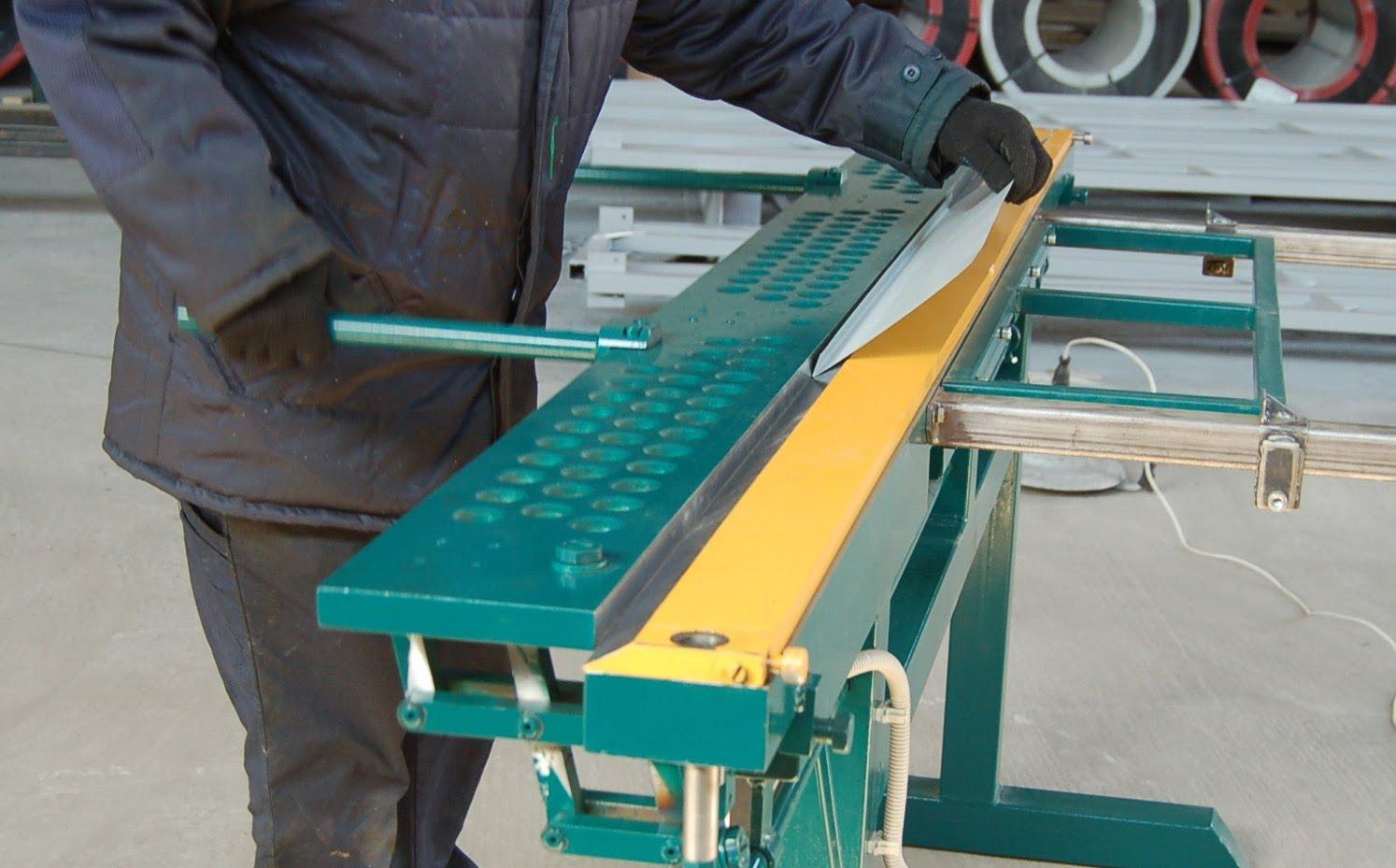 Как сделать станок по листовому металлу