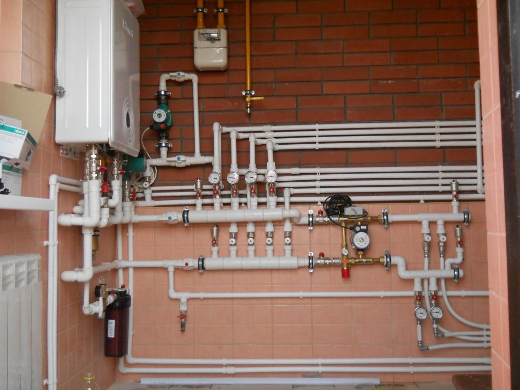 Отопление полипропиленовыми трубами своими руками в частном доме