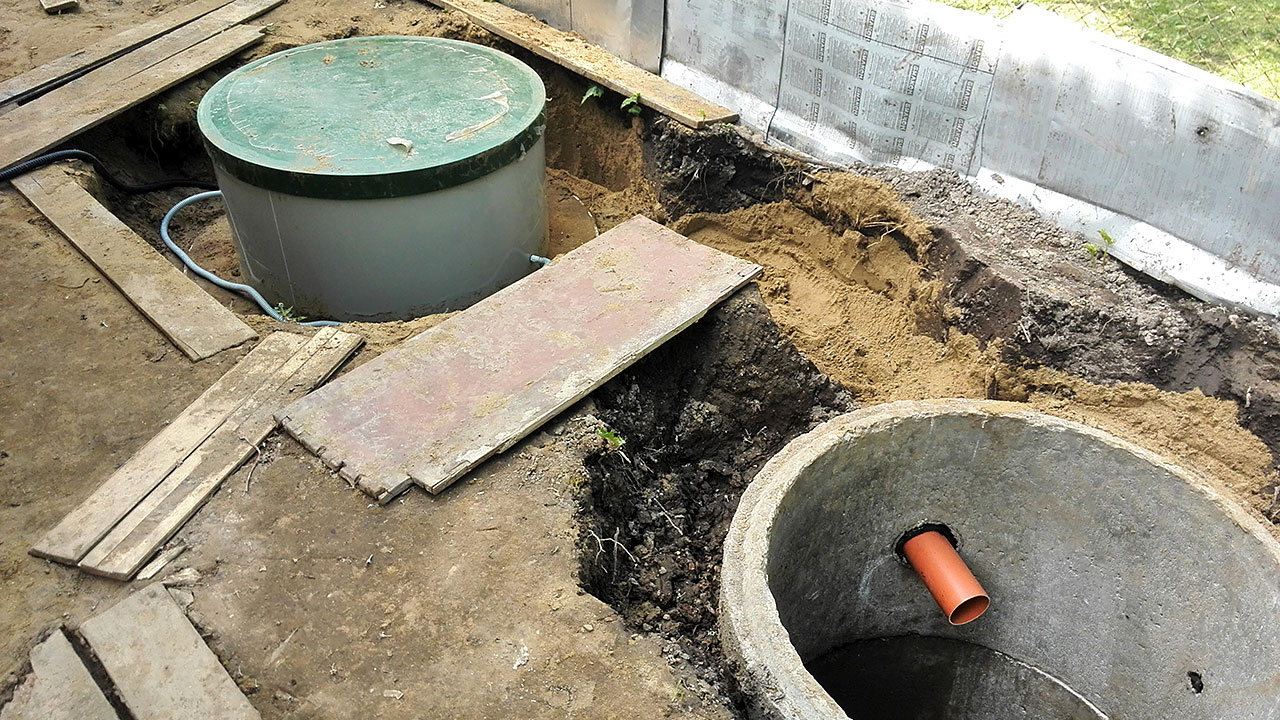 Откачка канализации своими руками 97