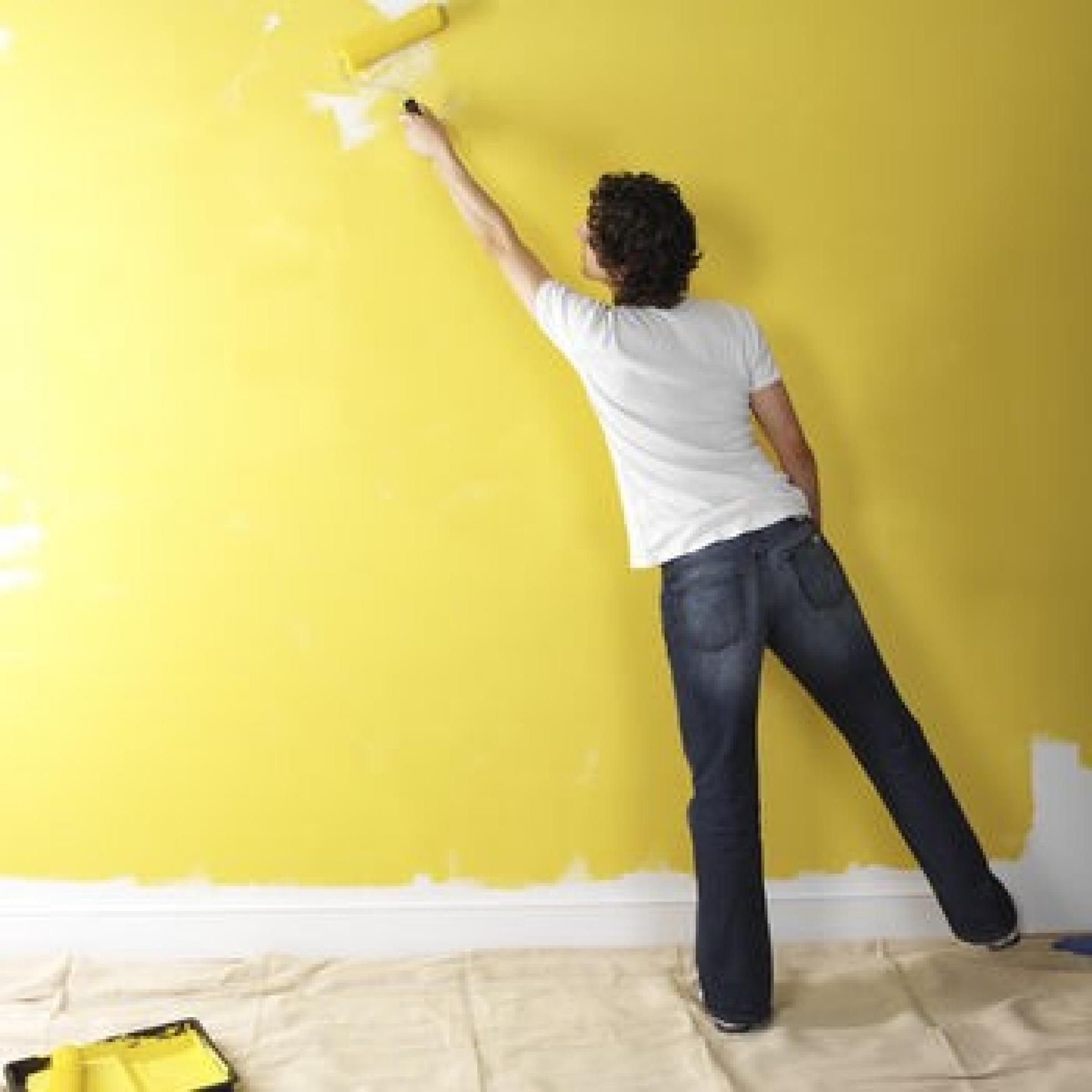 Сколько надо краски для покраски стен аква шпатлевки