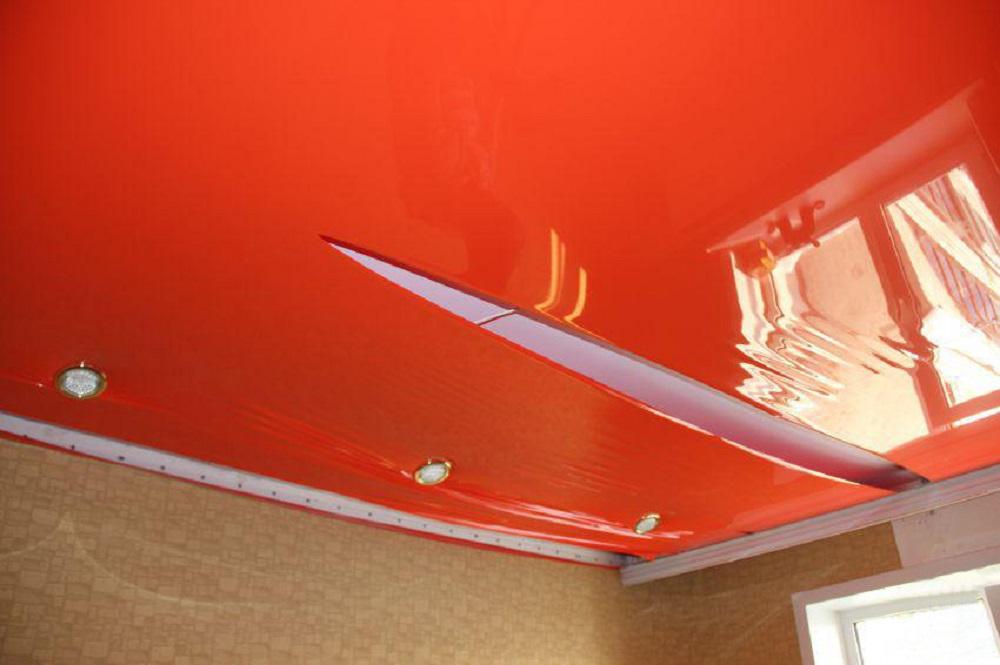 Фото натяжные потолки своими руками 7