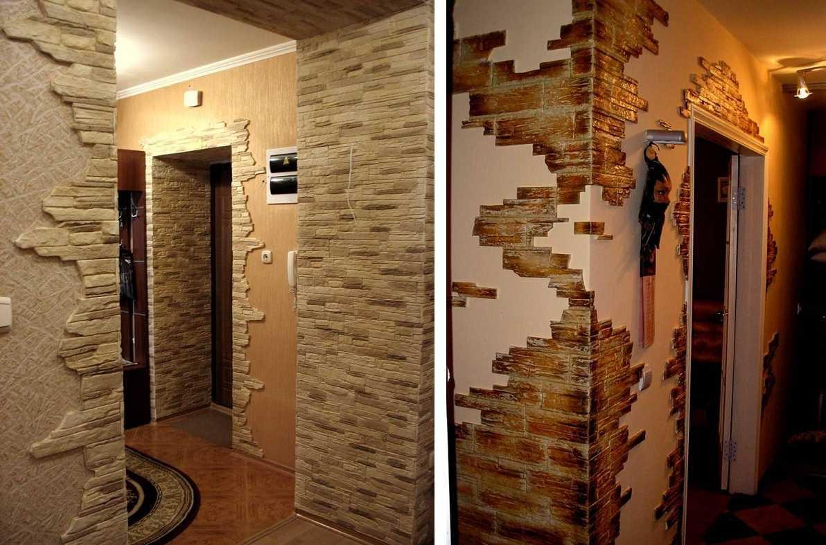 Dokončovacie dvere dekoratívne kamenné video