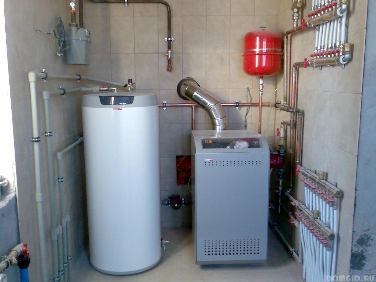Установка радиаторов kermi
