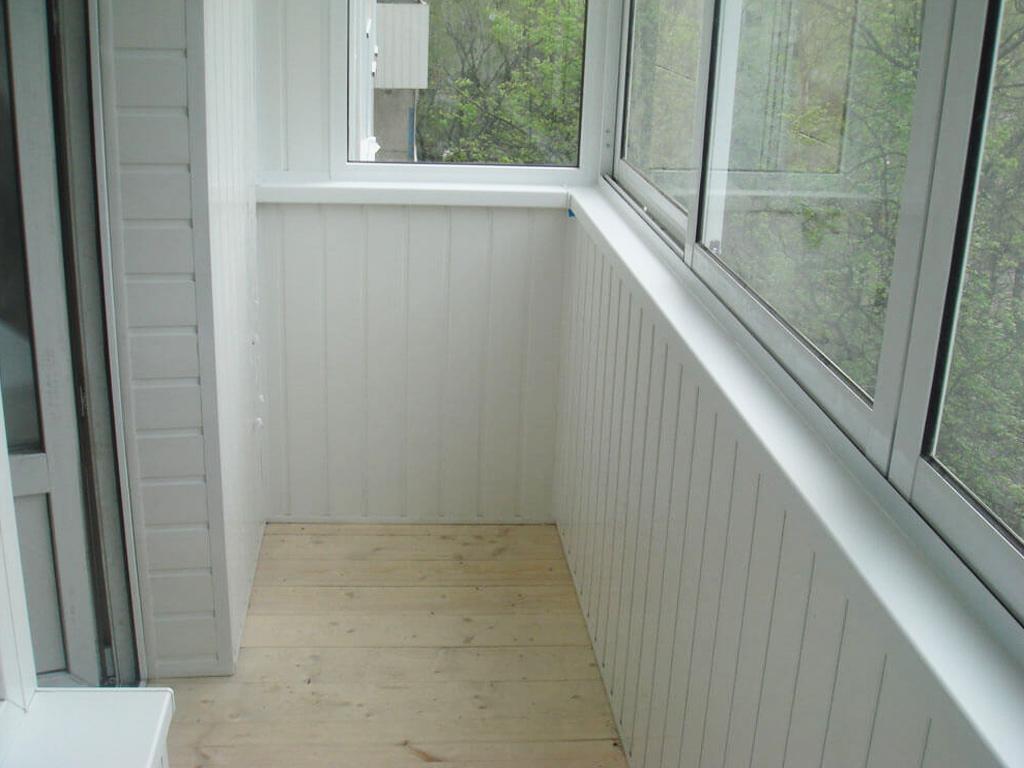Внутренняя отделка балкона пвх своими руками 774