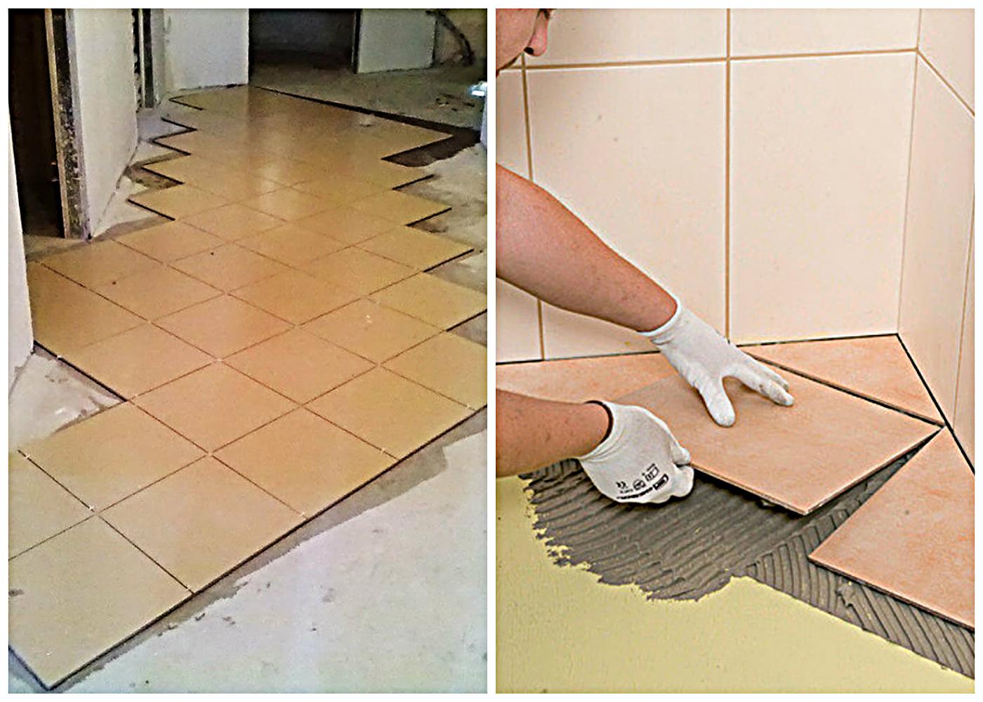 Kaj potrebujete za polaganje ploščic na tleh