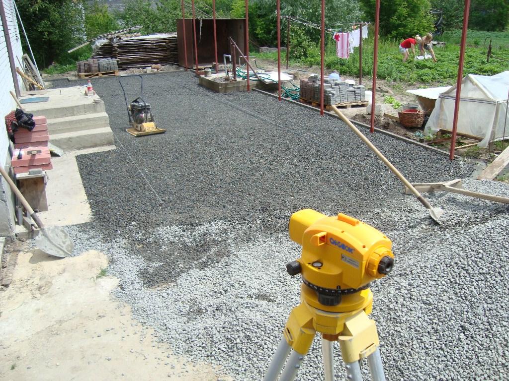 Подготовка основания под тротуарную плитку своими руками 29