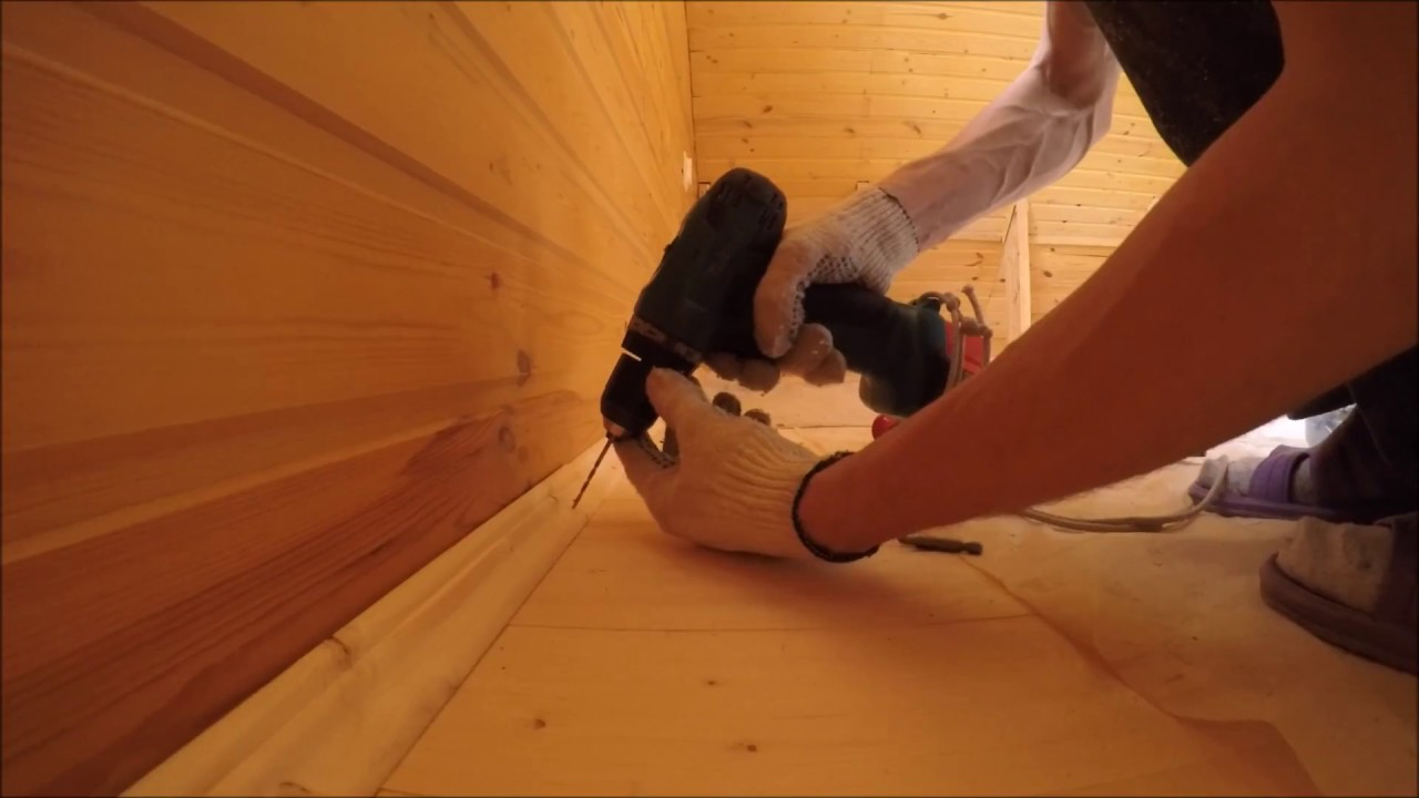 Как сделать деревянные плинтуса своими руками 138