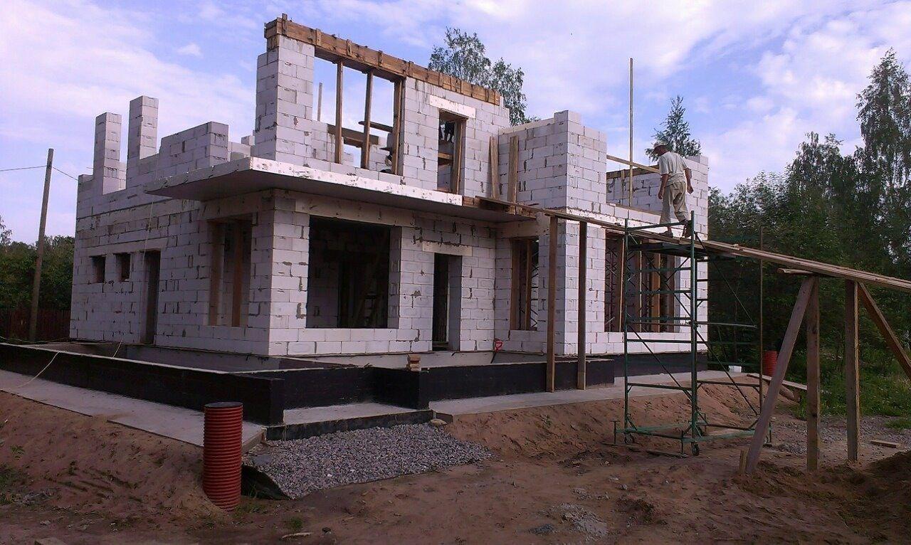строительство коттеджей спб из газобетона